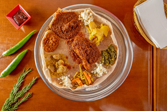 Blue Nile - Ethiopian Cuisine
