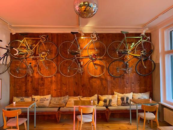 Steel Vintage Bikes Café